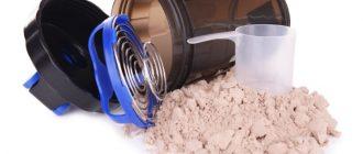 Как принимама сывороточный протеин: массанабор и похудение при помощи белковой добавки