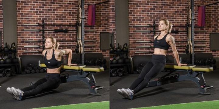 Лучшие упражнения на трицепс дома и в зале